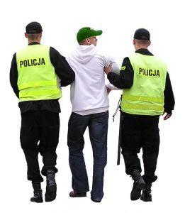 Działanie policji w Katowicach © Michał Zacharzewski