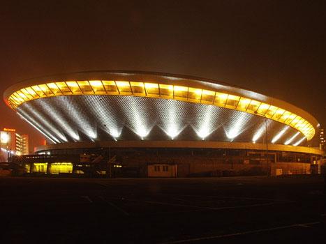 Spodek nocą © Fundacja Wikimedia