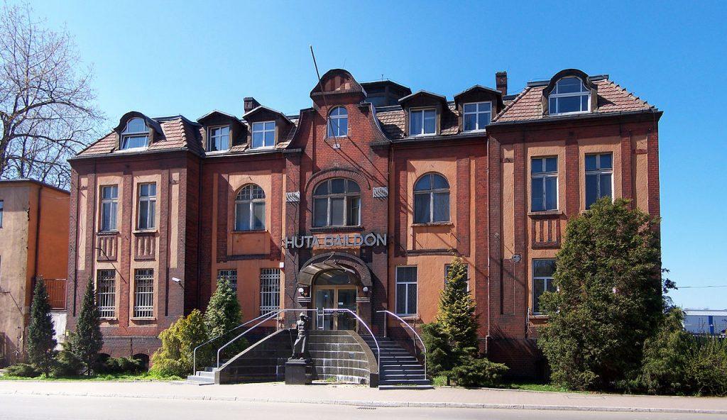 Dyrekcja Huty Baildon przy ul. Żelaznej 9 w Katowicach. Źródło: Wikimedia.org