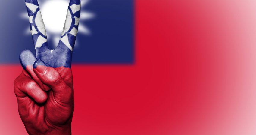 Flaga Tajwanu - Pokój (autor: David Peterson, źródło: Pixabay.com)